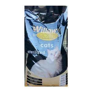 Willowy Gold Cats Sterilized 10 kg