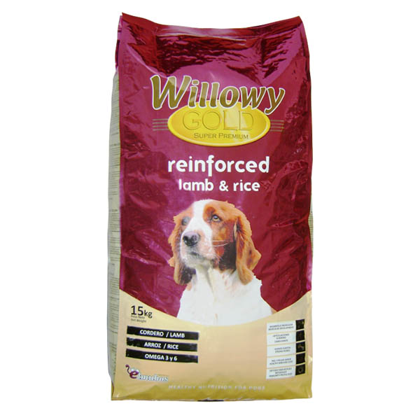 Willowy Gold Lamb & Rice 15 kg
